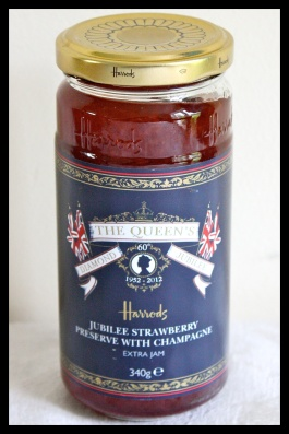 Strawberry Champagne Jubilee Jam