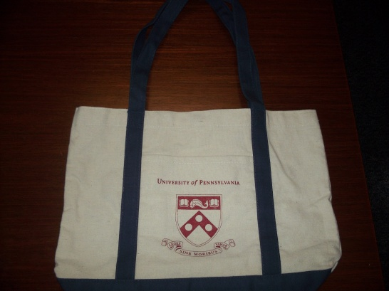 University of Pennsylvania Tote Bag
