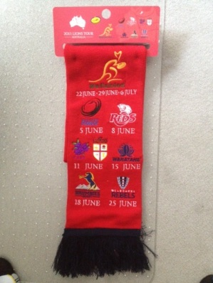 British and Irish Lions Scarf