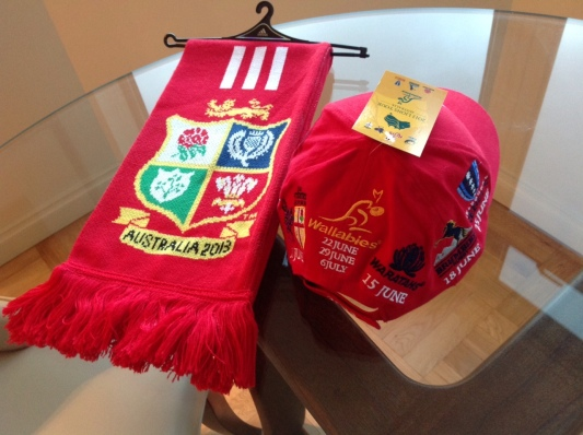 British and Irish Lions Limited Edition Scarf and Hat