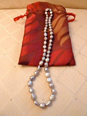Grey Freshwater Baroque Pearls