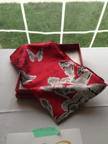 Chinese Silk Scarf