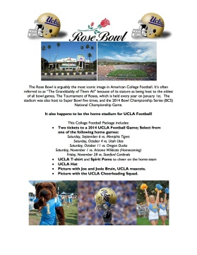 UCLA Football Details