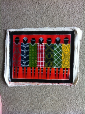Tinga Tinga Painting of Maasai