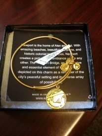 Alex and Ani Newport, RI Bracelet