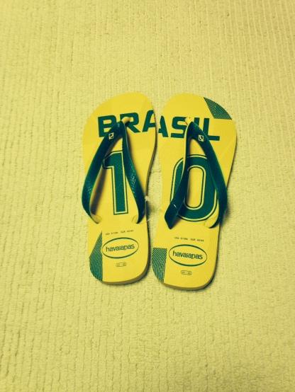 Brazilian Flip-Flops (size US 7/8W, 6/7M