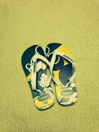 Brazilian Flip-Flops (size US 9/10 M)
