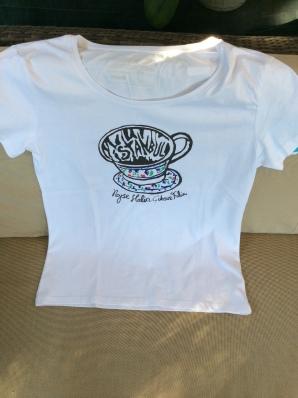 Mavi Istanbul T-Shirt, Size Medium