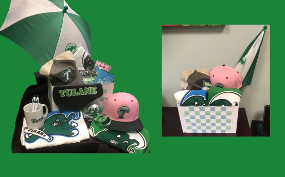 Tulane Athletics Swag Box