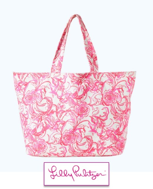 Lilly x goop tote
